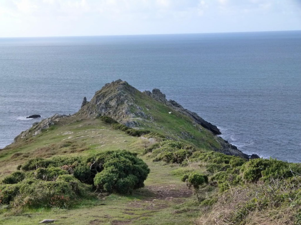 Craggy tip of Cudden Point